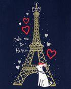 T-shirt en jersey à Tour Eiffel, , hi-res