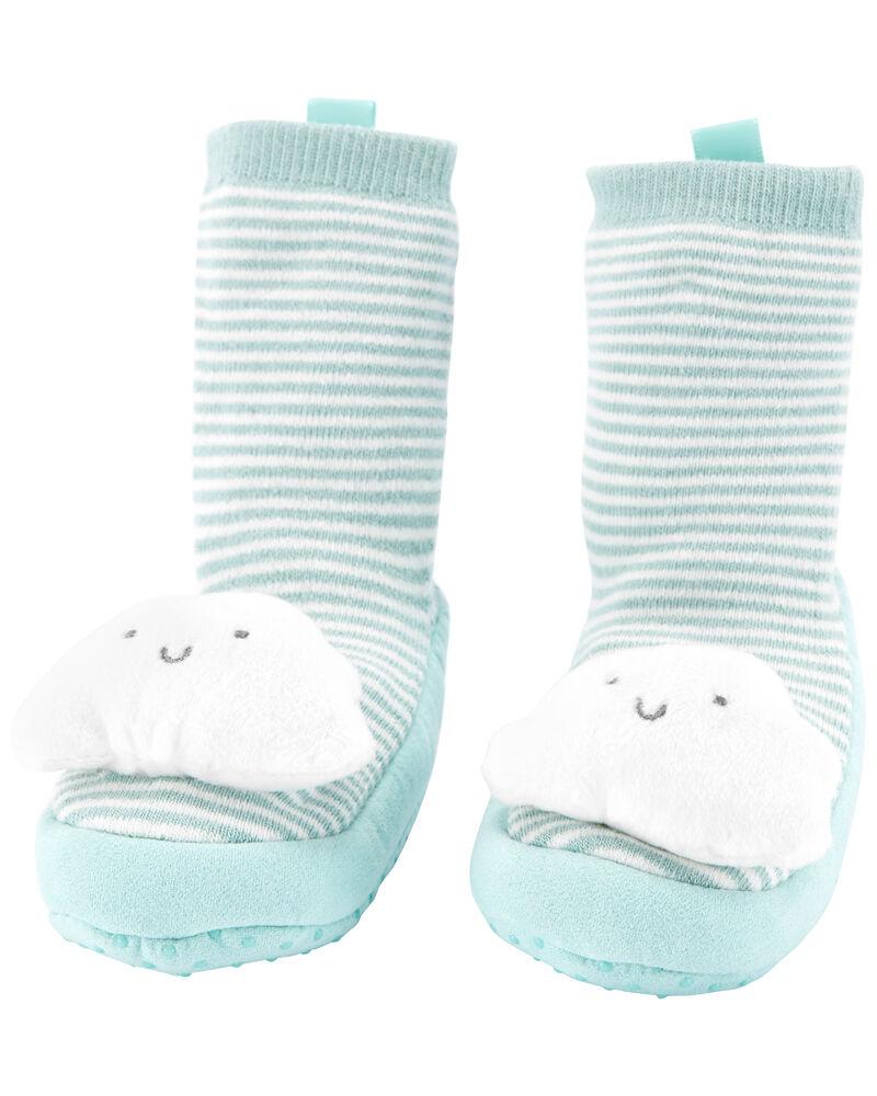 Cloud Slipper Socks, , hi-res