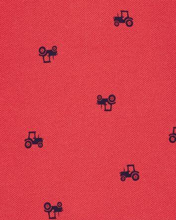 Truck Cotton Romper