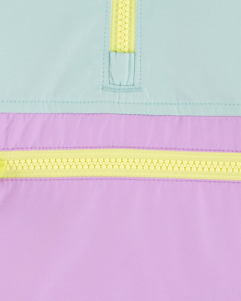 Coupe-vent compact de couleurs contrastantes, , hi-res