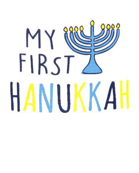 My First Hanukkah Collectible Bodysuit