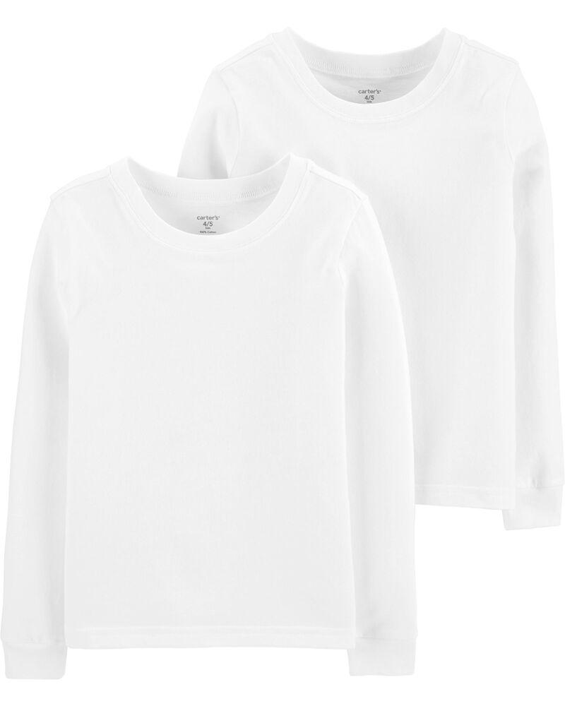 Emballage de 2 camisoles en coton, , hi-res
