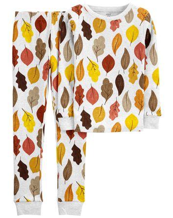 Pyjama 2 pièces en coton ajusté à m...