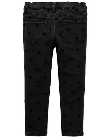 Velvet Dot Jeggings