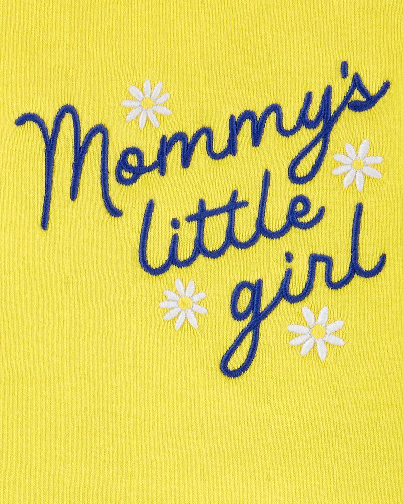 Ensemble 2 pièces cache-couche Mommy's Little Girl et pantalon, , hi-res