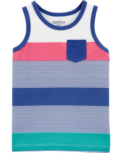 Stripe Pocket Tank