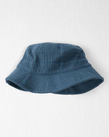 Cotton Gauze Bucket Hat
