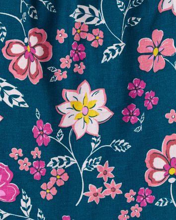 Floral Linen Top