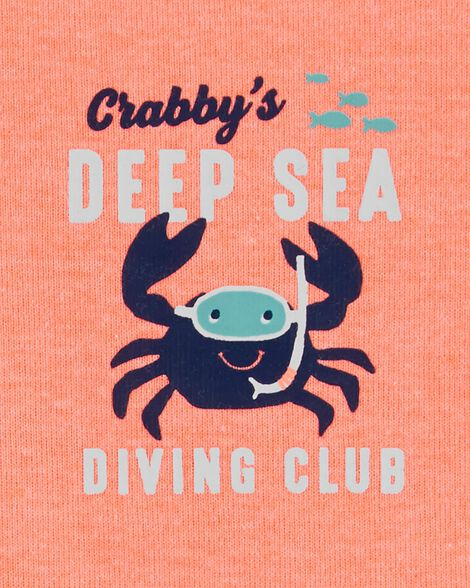 3-Piece Crab Little Short Set