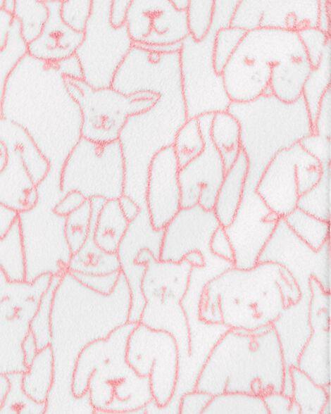 Gigoteuse en molleton à imprimé de chien