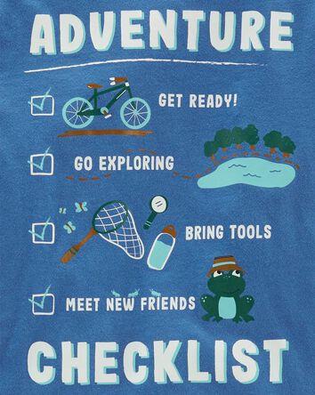 T-shirt en jersey Adventure