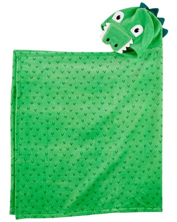 Serviette en tissu-éponge à dinosau...