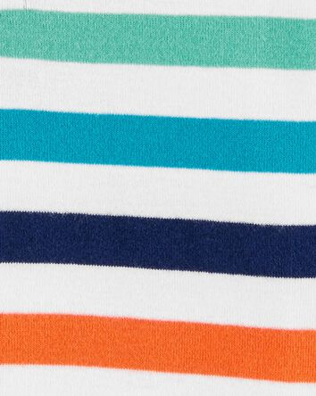 Striped Henley Bodysuit