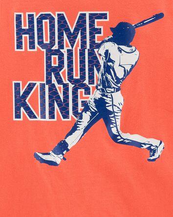 T-shirt de baseball en jersey