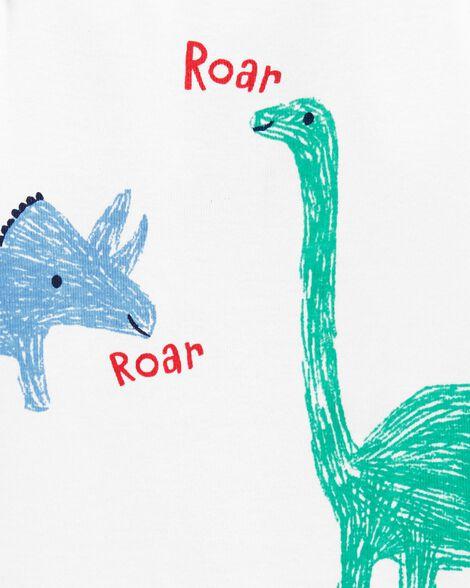 Cache-couche à collectionner motif dinosaure