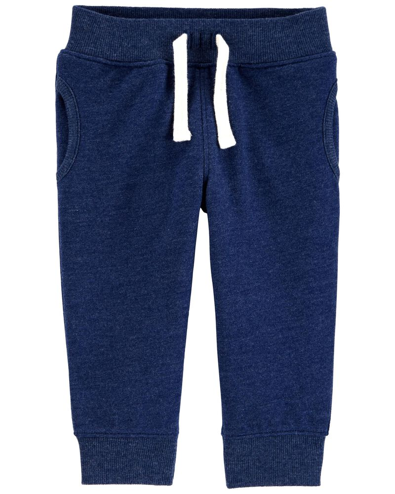 Pull-On Fleece Pants, , hi-res