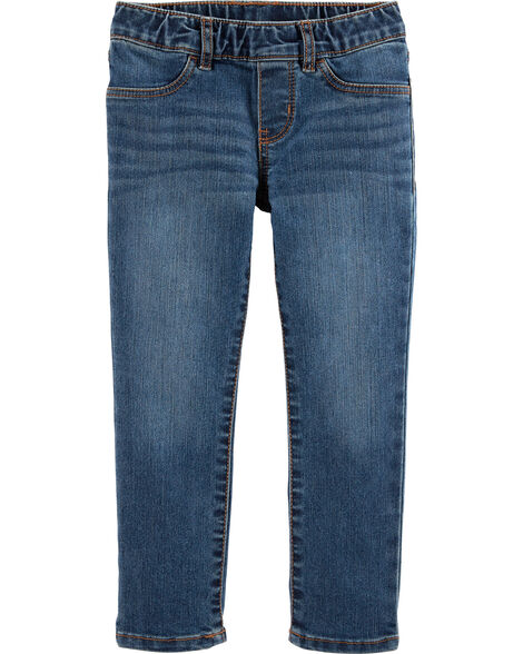 Pull-On Jegging - Shoreline Blue Wash