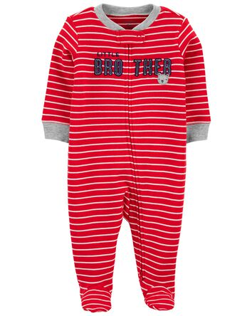 Little Brother 2-Way Zip Cotton Sle...