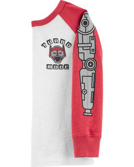 T-shirt Turbo Mode Robot