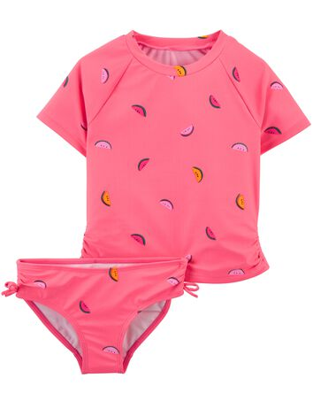Fun Fruit Rashguard Set