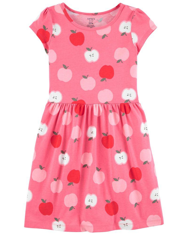Apple Jersey Dress, , hi-res