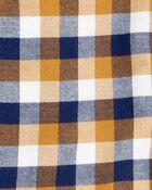 Ensemble 2 pièces chemise à motif écossais et jeans, , hi-res
