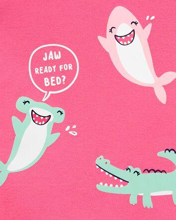 1-Piece Sharks 100% Snug Fit Cotton...