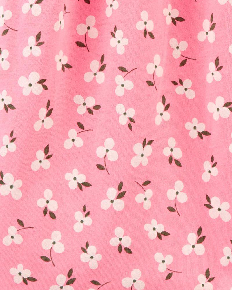 Robe chemisier fleurie, , hi-res