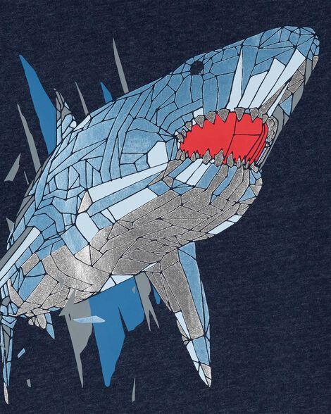 T-shirt chiné à requin
