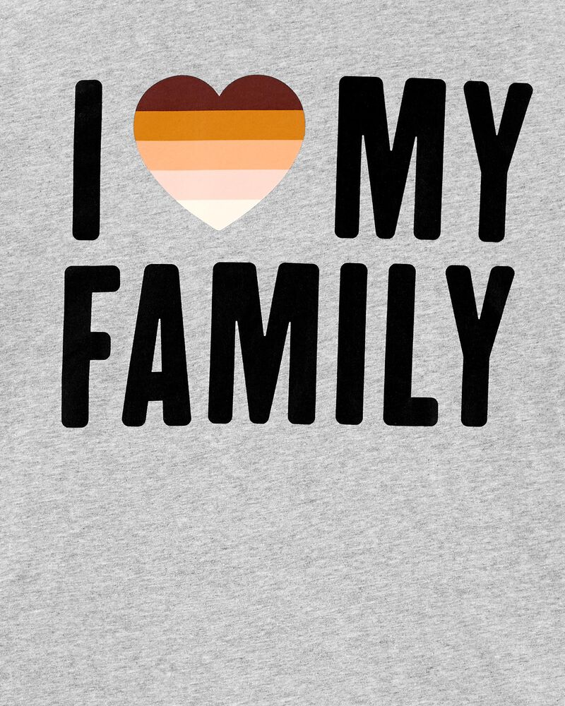 Adult Unisex I Love My Family Tee, , hi-res