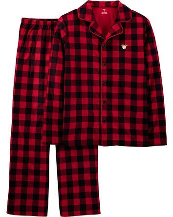 Pyjama festif 2 pièces en molleton...