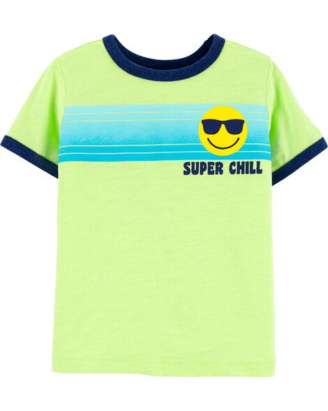 Super Chill Striped Tee