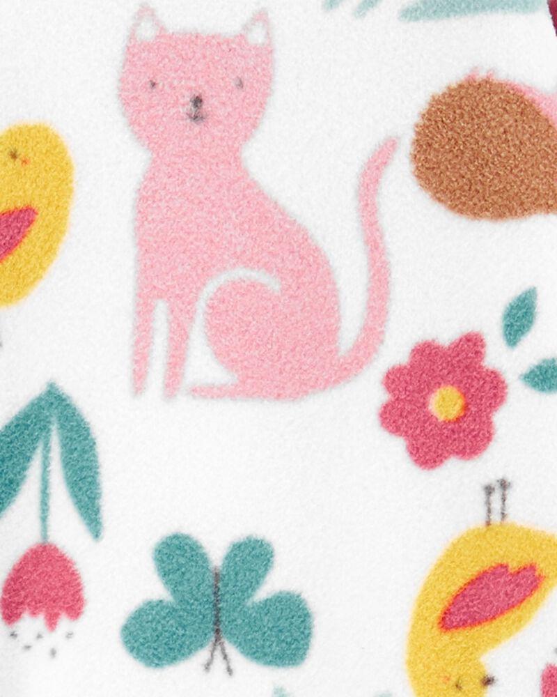 1-Piece Animals Fleece Footless PJs, , hi-res