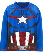 Captain America Rashguard, , hi-res