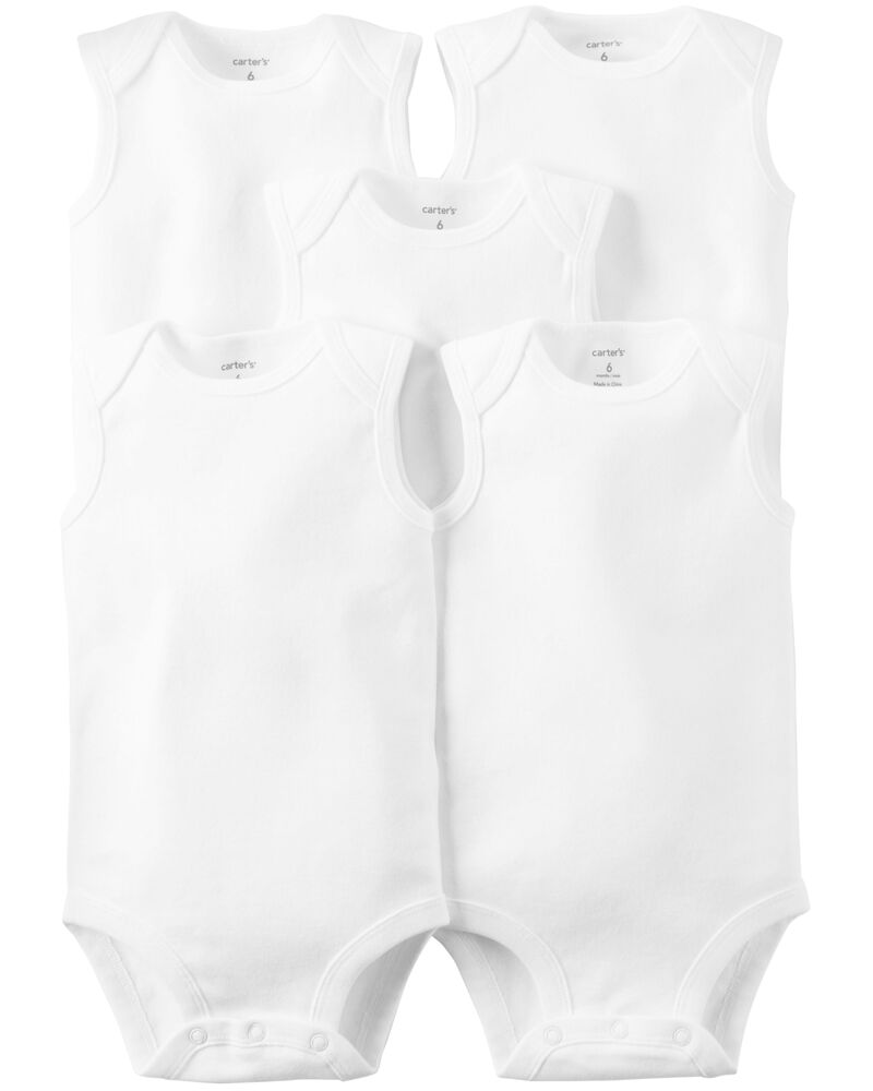 5-Pack Sleeveless Original Bodysuits, , hi-res
