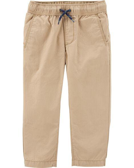 Pantalon de tous les jours à enfiler