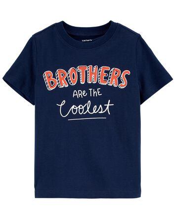 T-shirt en jersey Brothers