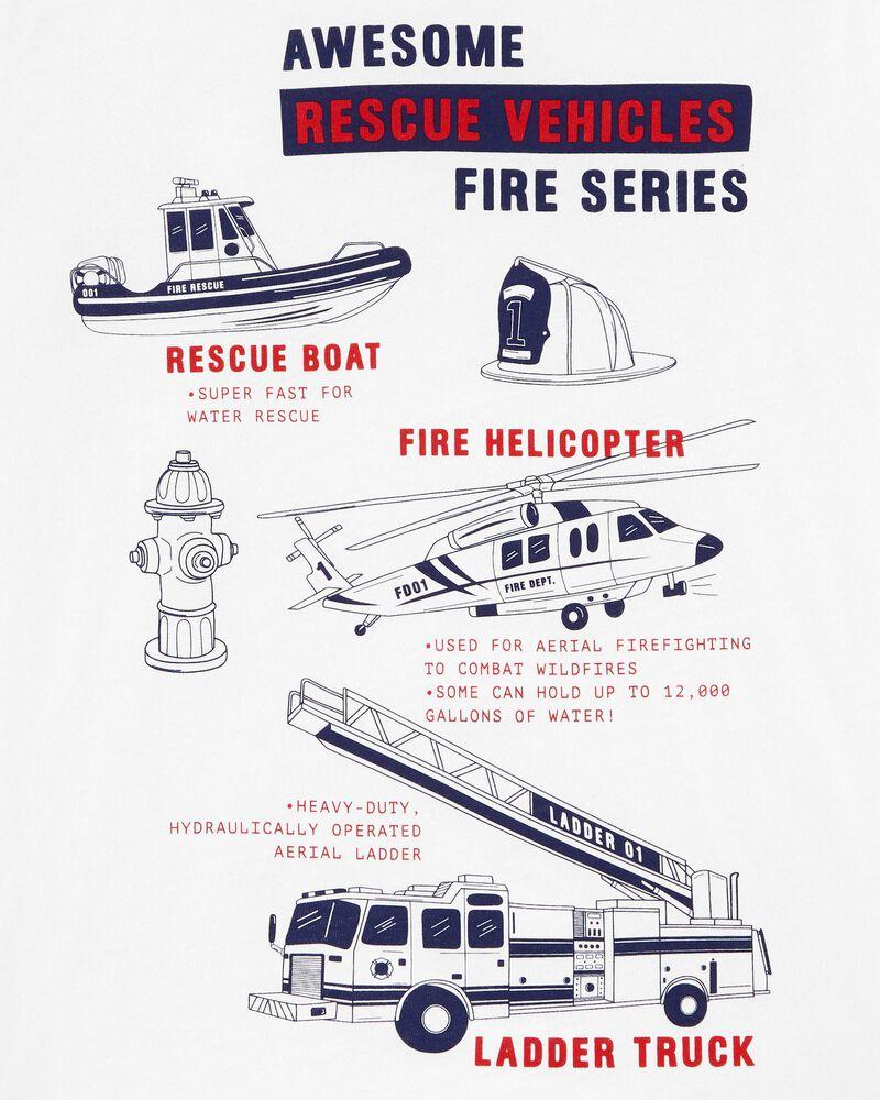T-shirt en jersey véhicules de secours, , hi-res
