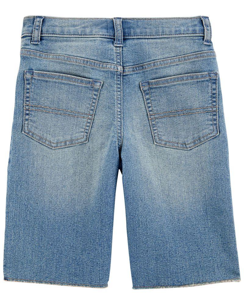 Stretch Denim Carpenter Shorts, , hi-res
