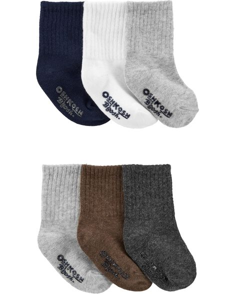 6-Pack Dress Socks