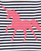 Unicorn Stripe Rashguard Set, , hi-res
