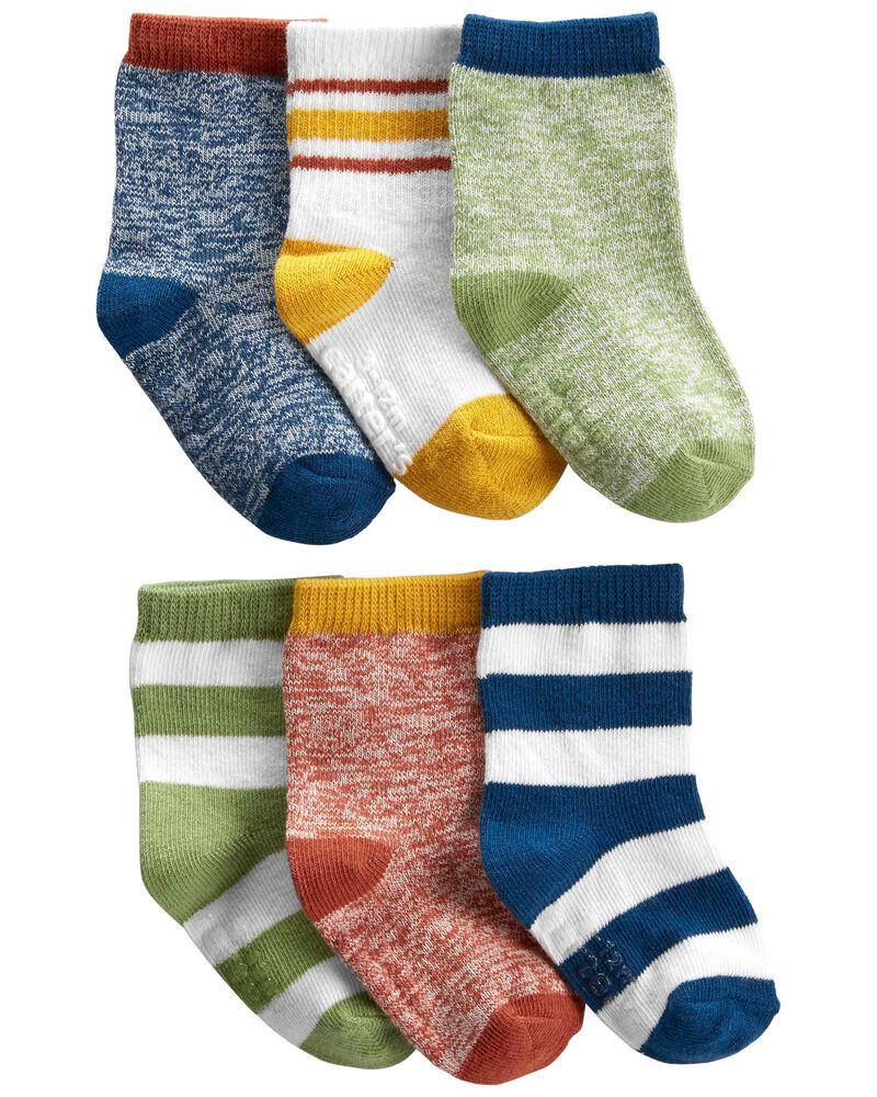 6 paires de chaussettes, , hi-res