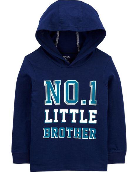 T-shirt à capuchon en jersey No.1 Big Brother