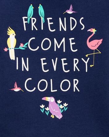 Friends In Every Color Jersey Tee