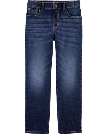 Slim Fit Classic Jeans - Rail Tie M...