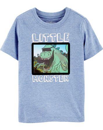 T-shirt à imprimé interactif
