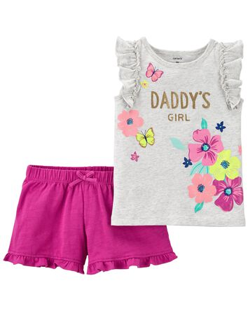 2-Piece Flutter Tank & Short Set