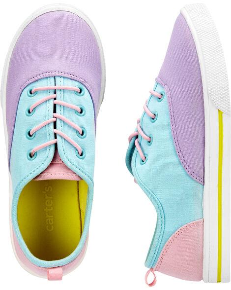 Chaussures aux couleurs contrastées