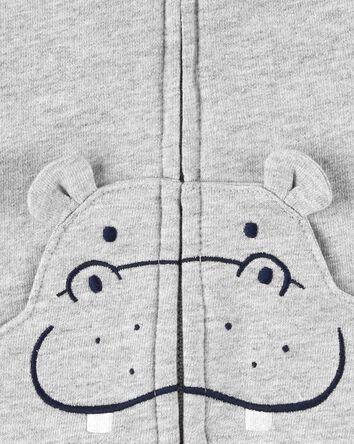 Ensemble 3 pièces gilet à hippopota...