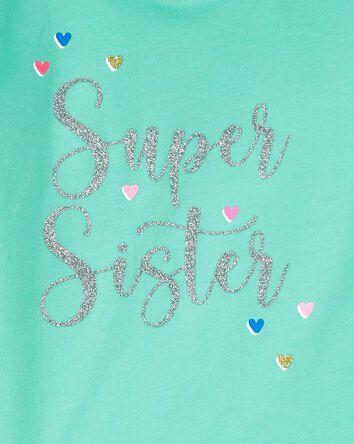 T-shirt en jersey Super Sister